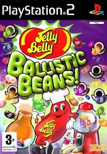 Jelly Belly Ballistic Beans PS2 PlayStation 2 Video Game Mint Cond UK Release