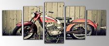 Bild moderne fotografisch Motorrad Harley Davidson Boden Holz 145x62cm ref 26112