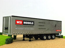 "WSI TRUCK MODELS,CURTAINSIDE TRAILER 3 AXLE ""WSI""1:50"