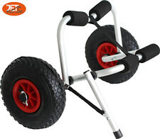 2×New Collapsible Kayak Trolley Canoe Wheel Cart Boat Carrier-JET2203