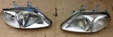 JDM 033-6690 HEADLIGHT (PLASTIC LENS) HONDA CIVIC EK3 MODEL 1996 99 PAIR L  R