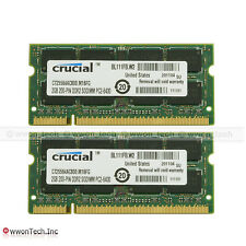 New 4GB Kit (2x2GB) PC2-6400 DDR2-800Mhz 200pin Sodimm Laptop Notebook Memory