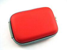 Universal Kameratasche Fototasche Schutz Case für Kleine Digitalkameras in Rot