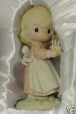 "Authentic Precious Moments "" May Your Birthday Be A Blessing "" Figurine - 524301"