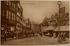 QUEEN STREET BARNSLEY PHOTOGRAPH POSTCARD A VIEW BY REGENT REAL PHOTO SERIES