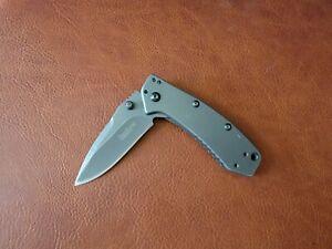 One Kershaw Cryo Pocket Knife - 1555 Hinderer Design TSA