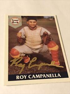 Roy Campanella 1992 Front Row 24 Karat Gold Signature Card 0170/2000 W/COA MT!