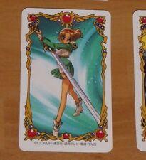 MAGIC KNIGHT RAYEARTH LUCHADORAS DE LEYENDA SEGA CARD CARTE CARD CLAMP JAPAN #8