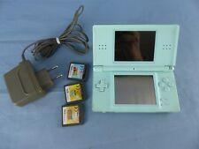 console NINTENDO DS Lite + câble et 3 jeux , fonctionne 100% Dragon Ball NARUTO