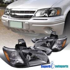 1997 2005 Chevy Venture Head Lights Signal Corner Black