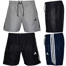 Adidas Essential 3 Stripe Chelsea Shorts Mens Original Climalite Gym Shorts 541986462c