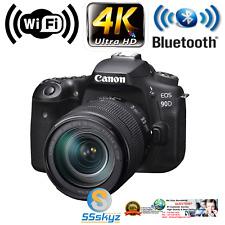 Canon Eos 90D Dslr Camera Body Kit Bundle 18-135mm Lens Mp 32.5 4K Wifi 3616C016