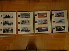 50 anni Unimog immagine documentazione incorniciato, u2010, 401, 411, 406, 416, 435, 424