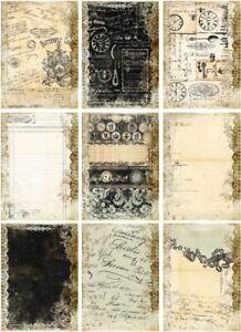 Decoupage-Bastelpapier-Softpapier-Vintage-Shabby-Nostalgie-12456