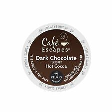 Cafe Escapes Dark Chocolate Hot Cocoa Keurig K-Cups 48-Count