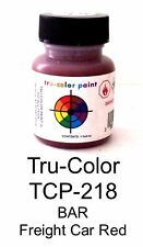 Tru-Color TCP-218 BAR Bangor & Aroostook Freight Car Red 1 oz Paint Bottle