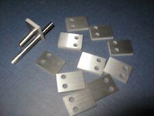 """11 Pcs. Carbide C2 Preforms,Kapton Wire Stripper,.118x.614x.847"""", Tool Maker"""