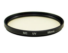 58mm MC UV Filter for Canon EOS 600D 550D 5D Mark II 7D for Camera New US Seller