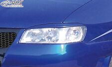RDX Scheinwerferblenden SEAT Ibiza 6K Facelift 1999+ Böser Blick Blenden Spoiler