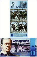 ANTARCTICA 10 DOLLARS 2011 UNCIRCULATED POLYMER COMMEMORATIVE