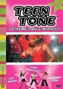 Teen Tone - Extreme Dance Workouts (DVD, 2009) brand new sealed - all region!
