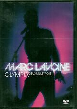 DVD ALL ZONES CONCERT 20 TITRES + BONUS--MARC LAVOINE--OLYMPIA 2003