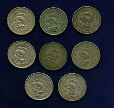 MEXICO ESTADOS UNIDOS  10 CENTAVOS: 1936 - 1946, XF to UNC., GROUP LOT OF (8)