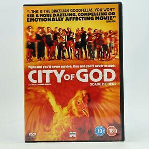 City of God DVD 2002 Brazilian Rio de Janiero Flavella Portuguese R2 GC