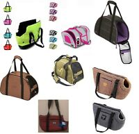 Pet Dog Cat Puppy Carrier Bag Basket Fabric Travel Cage Crate Washable Foldable