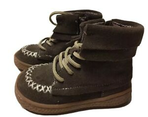 LN Girls Shoes Short Boots Livie & Luca Brown Hopper 4