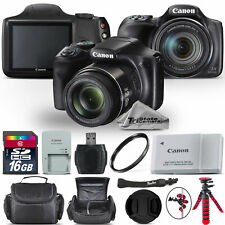 Canon PowerShot SX540 HS Digital Camera 20.3MP 50x Optical NFC / WiFi - 16GB Kit
