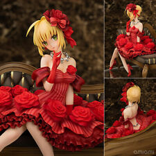 Anime Aquamarine Fate / EXTRA idle Emperor Nero Claudius 1/7 PVC Figure No Box
