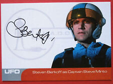 UFO - STEVEN BERKOFF (SB1) as Captain Steve Minto - VERY LIMITED Autograph Card