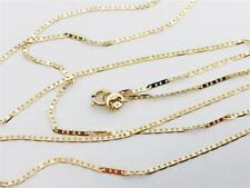 "14K 20"" 1.2mm Solid Yellow Gold Mariner Gucci Anchor Link Necklace Chain 14Kt"