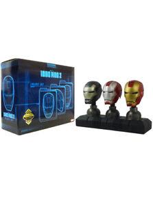 Sideshow Collectibles Iron Man Helmet Set 2011 SDCC Exclusive Marvel Sample
