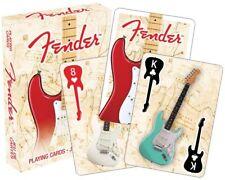 FENDER - -satz 52 Karten - 52 unterschiedliche Fotos - Karten Spiel- für Fan