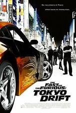 The Fast and Furious Tokyo Drift 1 Series Movie Poster Canvas Premium Quality