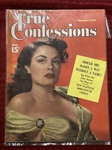 True Confessions December 1949 Magazine