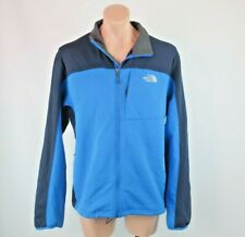 The North Face Apex Bionic Thermal Blue Colorblock Full Zip Up Jacket Sz XL
