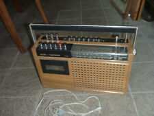 RFT Stern Recorder R160 Radio Kassetten Rekorder DDR FUNKTIONSTÜCHTIG Holz