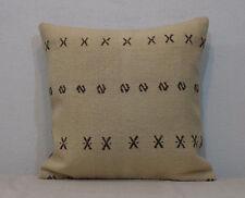 Kilim Pillow Cover 20x20 Cream Pillow Cover,Cream Cushion Cover Boho Pillow