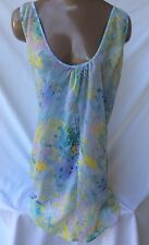 L Victoria's Secret Sexy Beach Tropical Cover Up Slip Dress Large NWT