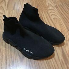 Balenciaga - Speed Trainer Triple Black Men's Shoes Slip On Size 8