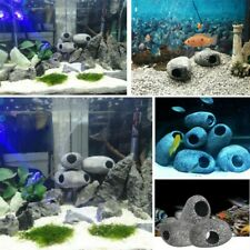 New listing Ceramic Rock Cichlid Stone Cave Aquarium Decoration Fish Tank Shrimp Breeding