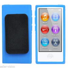 Étuis, housses et coques bleus iPod Nano pour lecteur MP3