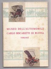 O697-MUSEO DELL'AUTOMOBILE-C.BISCARETTI DI RUFFIA TORINO