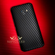 SopiGuard Carbon Fiber Brushed Full Body All 6 Sides Skin for HTC One 10 M10