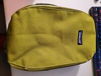 Vintage Green Patagonia Small Outdoor Bag Carry Pack Zip Up