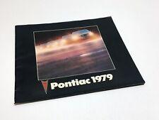 1979 Pontiac Sunbird Phoenix Grand Prix Grand Am Parisienne Firebird Brochure
