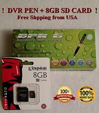 8GB Hidden Nanny Spy Camera Pen Cam with Audio & Video Recording